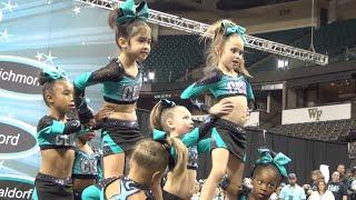 Cheer Extreme Raleigh Tiny Turtles 2015 Showcase