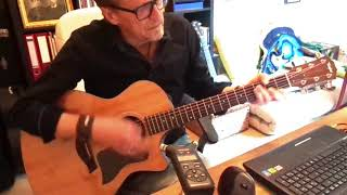 Bee Gees - I Started A Joke - Acoustic Guitar Rendition Unplugged