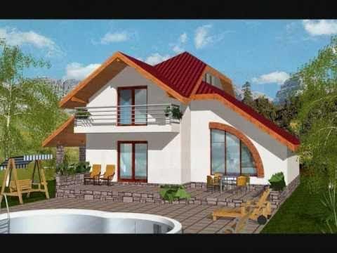 Proiecte case mici cu mansarda gratis