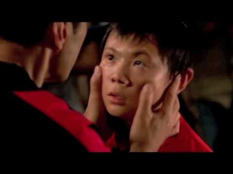 The new Karate kid final fight with old soundtrack