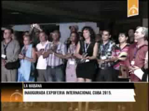 """Convención de Radio y Televisión  """"Cuba 2015"""" en Audiovisual Inuaguna la Expo-Feria"""