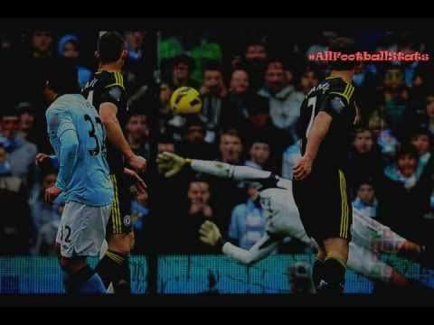 Manchester City vs Chelsea 2-0 Highlights All goals & statistics 24.02.2013