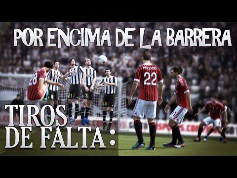 FIFA 15 - FREEKICK TUTORIAL  / TIROS LIBRES (Por encima de la barrera)