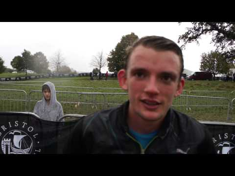 McCain Bristol Cross Challenge - Senior Men's winner Dewi Griffiths
