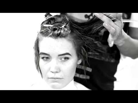 creative haircut for women