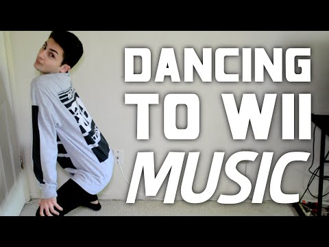 DANCING TO WII MUSIC