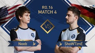 [GSL vs. the World 2019] Ro.16 Match4 Neeb vs ShoWTimE