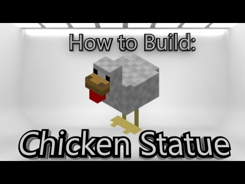Minecraft: How To Make A Chicken Statue