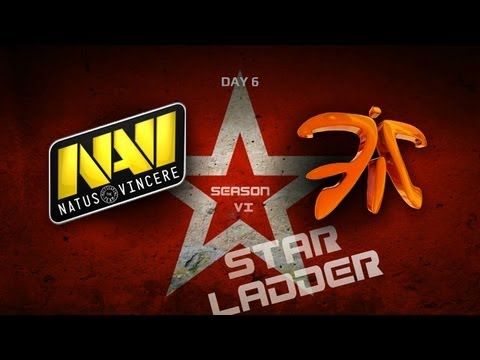 SLTV StarSeries S6 Day 6  NaVi vs Fnatic