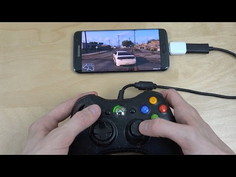 GTA 5 Samsung Galaxy S7 Edge NVIDIA Moonlight GameStream Gameplay!