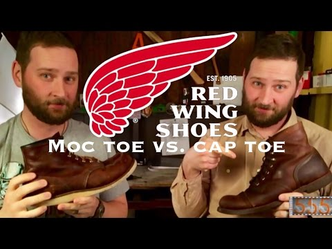 Comparing Red Wing Moc & Cap Toe Heritage Boots: Featuring 8111 Iron Rangers and 8138 Moc-Toe