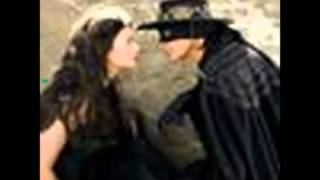 Musique film - Le masque de zorro 1998 ( Antonio Bande & Catherine Zeta- Jones )