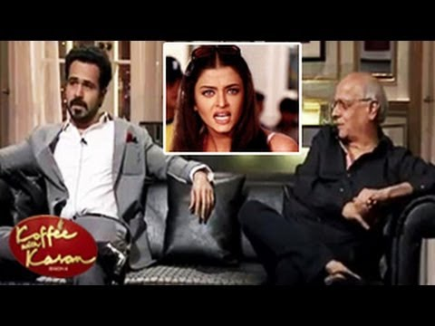Emraan Hashmi Insults Aishwarya Rai Koffee With Karan 26th January 2014 video