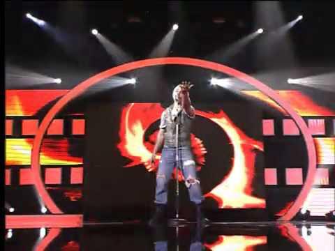 Dimitris Tiktopoulos - Greek Idol 2011 - 2o Live