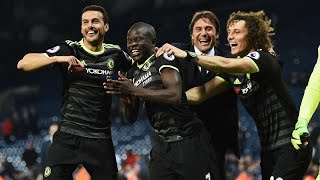 Chelsea top West Brom, clinch Premier league title