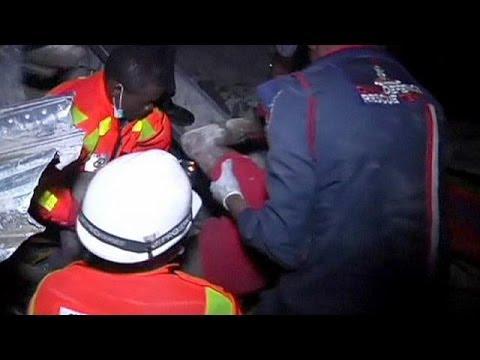 Nigeria : Lagos endeuillée par l'effondrement d'un immeuble en construction