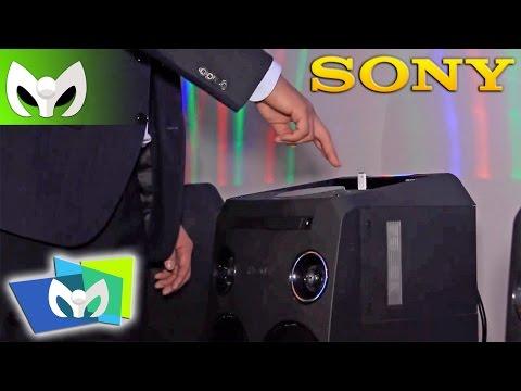 NUEVOS Parlantes Sony Controlado con Gestos! - #CES2015 @Sonylatin