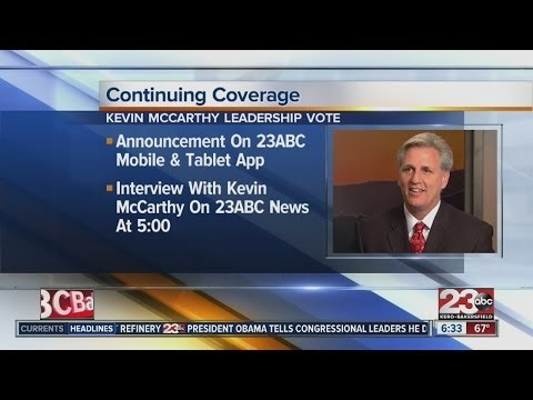 GOP to elect Majority Leader, Kevin McCarthy is front runner