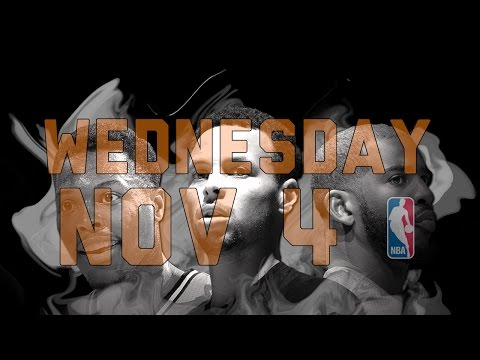 NBA Daily Show: Nov. 4 - The Starters