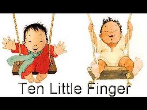 Ten Little Finger - English Nursery Rhymes For Kids | Animated Poems For Children video