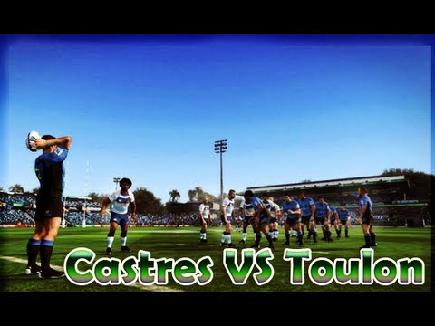 Castres Vs Toulon | Jonah Lomu Rugby Challenge 2 (2013/2014)
