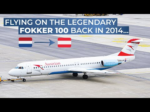 [Tripreport] | AMS-VIE | Fokker 100 | Austrian Economy Class