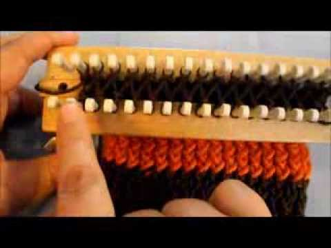 Simply Intertwined: UPDATED Changing Colors On A Rake (or Straight Loom)