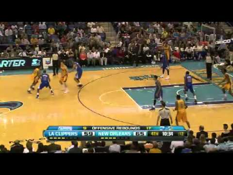 LA Clippers Vs New Orleans Hornets 12 April 2013 - NBA CIRCLE Highlights http://www.nbacircle.com