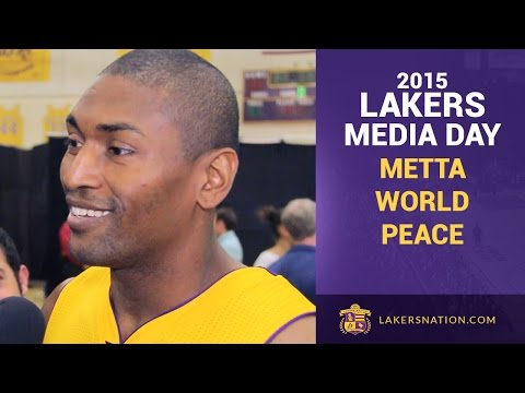 Lakers Media Day: Metta World Peace Excited To Be Home