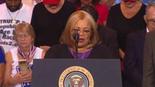 Alveda King niece of Martin Luther King, Jr. SPEECH at President Donald Trump Rally Phoenix, Arizona