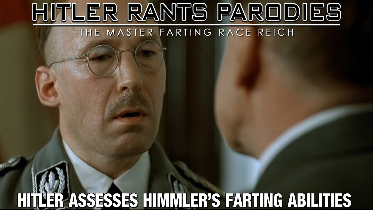 Hitler assesses Himmler's farting abilities