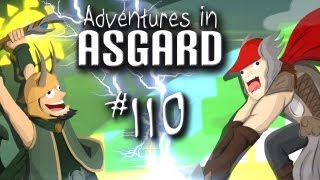 "Adventures in Asgard w/ Nova, Ze, & Kootra - Ep. 110 ""Tree Farm"" (Minecraft)"