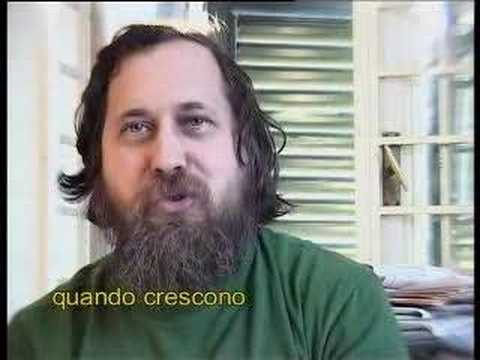 Stallman interview on free software