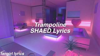 Trampoline || SHAED Lyrics
