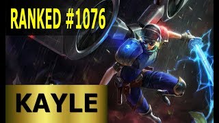 Kayle Top - Full League of Legends Gameplay [German] Lets Play LoL - Ranked #1076