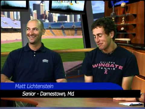 Wingate Men's Tennis - SAC Tournament Preview with Coach Cabana & senior Matt Lichtenstein