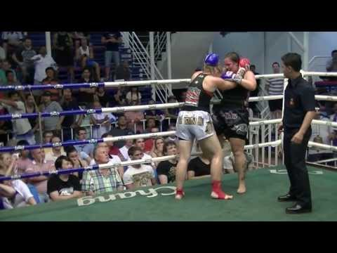 Amy Sumalee Boxing Gym VS Lindsey Rawai Muay Thai, Bangla Boxing Stadium, 17th June 2013.