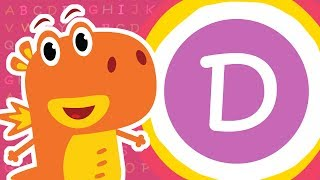 The Letter D – Learn Alphabet  Kids ABC For Children From Smart Babies
