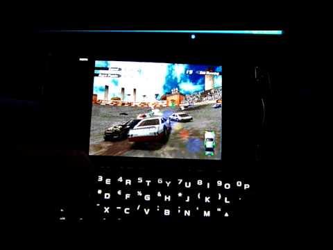 Destruction derby FPSEce 0.10 on Samsung Omnia PRO B7610