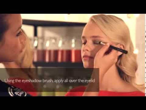 Get The Look   Colour Crush Smoky Eye with Sophisticated Red Lips   The Body Shop