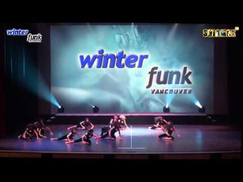 Shiamak Style Kabhie Jo Badal Barse - Shiamak's Winter Funk 2013 Vancouver video