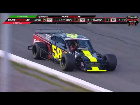NASCAR Whelen Modified Tour 2019. Qualifying Thompson Speedway Motorsports Park (3)