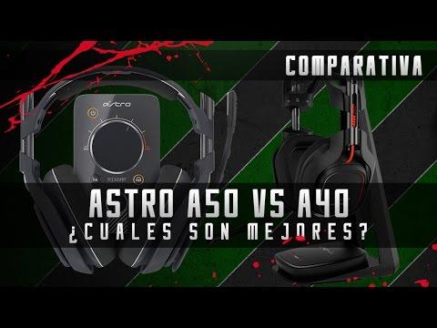 Comparativa Astro A40 vs A50 - ¿Cual es mejor? ¿Cual debo comprar?