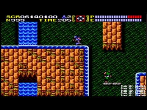 Lets Play Ninja Gaiden #2:samurai Boss And The Worst Ice Physics I Have Ever Seen In A Game! video