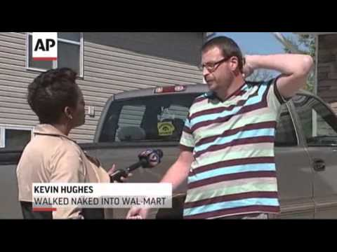 S.C. Man Apologizes for Naked Walk in Wal-Mart
