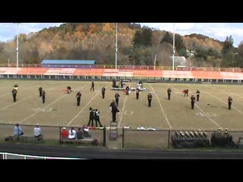 South Greene High School Band of Rebels at 2012 Appalachian Classic Band Festival