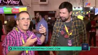 TN Tecno 430-1 Argentina Comic-Con 2018