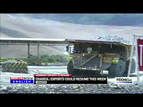 US Mining Company Newmont May Resume Indonesia Exports Soon