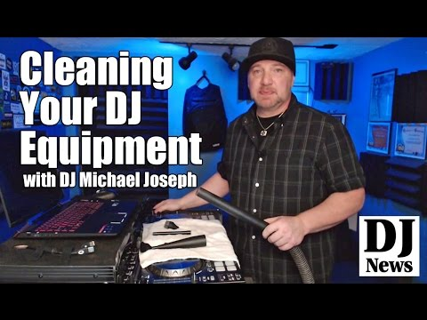 Cleaning Your DJ Equipment