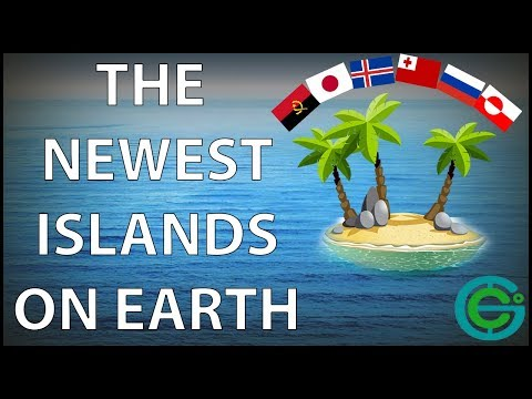 The NEWEST islands on Earth (Geography Now!)
